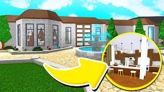 I GAVE THE MOST EXPENSIVE MANSION A BLOXBURG MAKEOVER!! Roblox