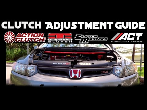 8th Civic Si and RSX Type-S Clutch Adjustment DIY | Aftermarket and Stock | FG2, FA5, DC5