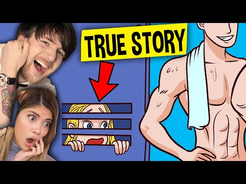 I Got TRAPPED Inside My Crush LOCKER! (My Story Animated Reaction) feat. Gloom