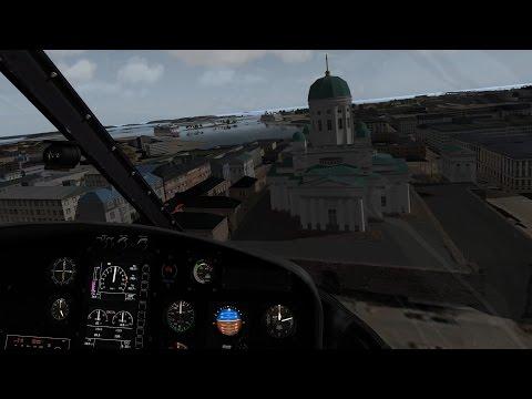 [X-Plane 10] Helsinki Metropolitan VFR Scenery - Closer Look