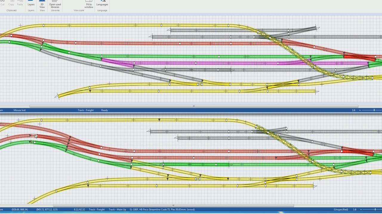 hight resolution of a model railway from scratch 08 track plan update and wiring track plan wiring