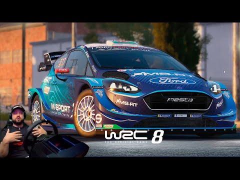 WRC 8 FIA WORLD RALLY CHAMPIONSHIP - ОЧЕНЬ КРУТОЕ РАЛЛИ В УЖАСНОМ EGS!