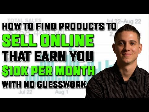 Shopify Product Research | 10k+/Month How to Sell Products O