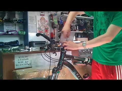 Как быстро занизить руль на велосипеде своими руками