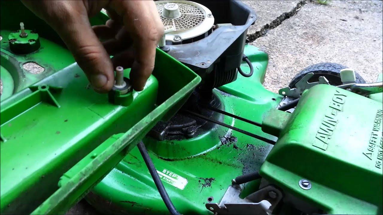 Lawn Boy 2 Stroke Engine Repair Part 1