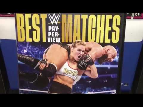 WWE Best PPV Matches Of 2018 DVD Review