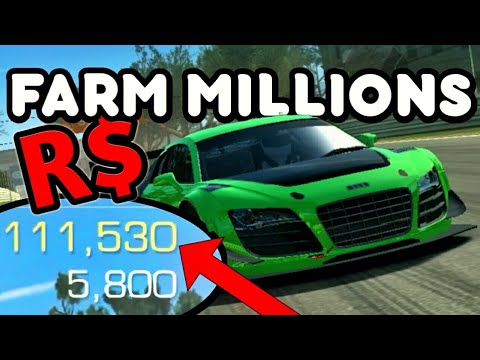 How To Get MONEY Fast - Real Racing 3 FARMING 100K In 1 Race