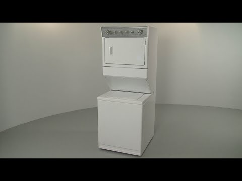 Whirlpool Electric Washer/Dryer Combo Disassembly (Model #WET4027EW0)