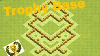 Deadly Phoenix Base | Clash of Clans TH 5 Trophy Base + Defence Replays | Anti-2 Star
