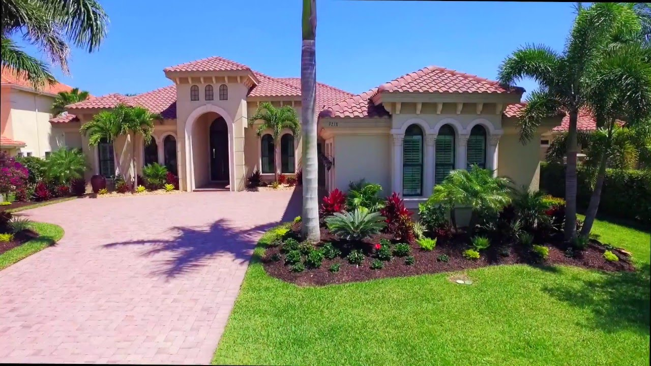 The Quarry Naples Florida 9218 Marble Stone Drive Waterfront