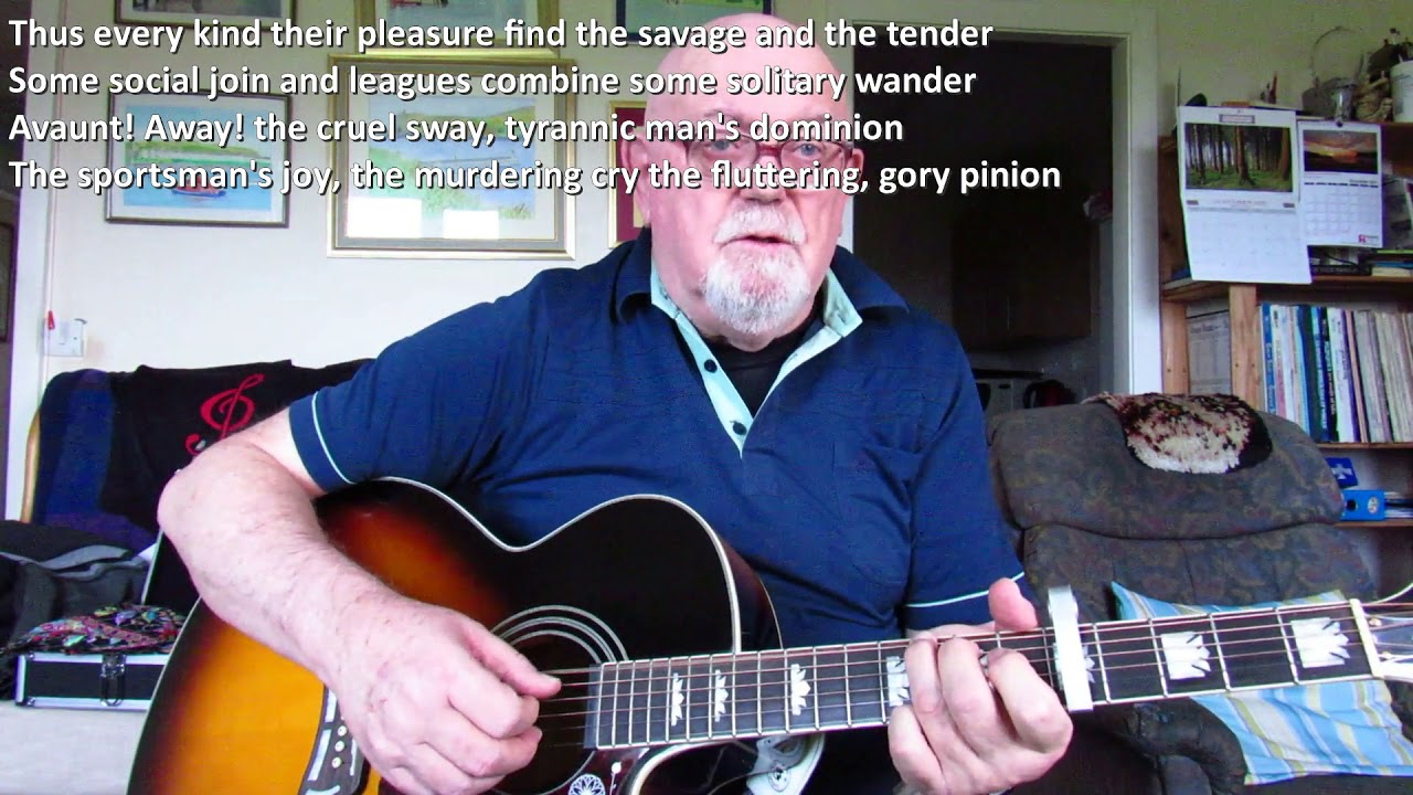 Guitar Now Westlin Winds Including Lyrics And Chords Youtube