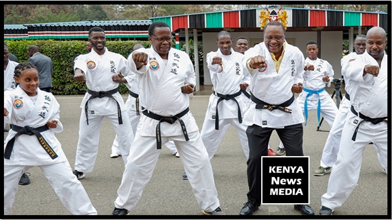 UHURU KENYATTA FLAGS OFF TONG-IL MOO-DO TO REPRESENT KENYA IN SOUTH KOREA