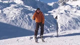 Урок 20   Карвинг на лыжах Основная лыжная стойка