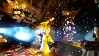 Funk Circuit™ Gold & Silver Metallic Confetti for a Marvelous Wedding at Sofitel, Manila