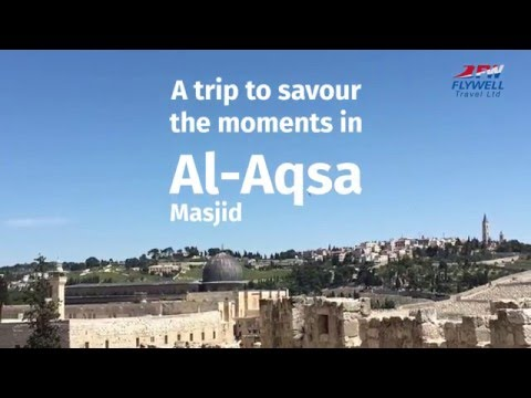 Al Aqsa Masjid Tour advert by Open Squares for Flywell Travel Ltd