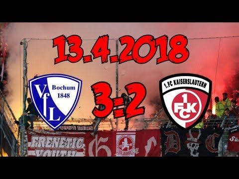 VfL Bochum 3:2 1. FC Kaiserslautern - 13.4.2018 - Spitzen Support - Keine Punkte!