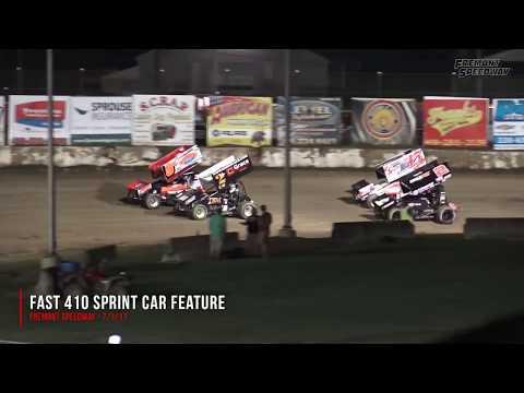 Fremont Speedway 410 Feature - 7/3/17