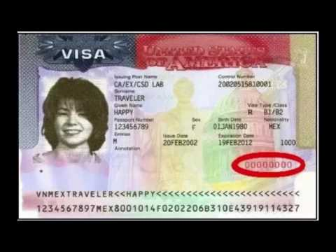 form i 485 nonimmigrant visa number  How to find your nonimmigrant visa number - YouTube
