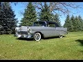 1956 Chevrolet Bel Air Convertible in Inca Silver & Engine Sound on My Car Story with Lou Costabile