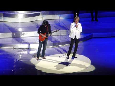 I'd Rather Go Blind - Rod Stewart & Carlos Santana, Jones Beach 8/20/2014
