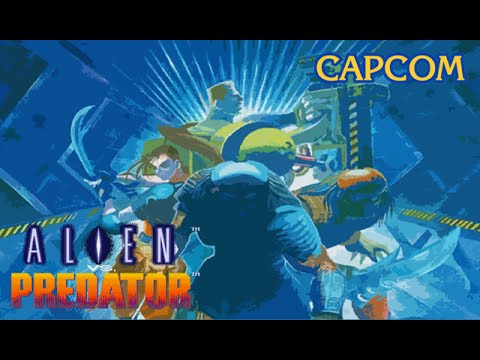 Alien vs Predator (Arcade/Capcom/1994 Dutch) [720p]