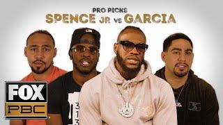 Pros predict Spence Jr. vs Garcia | PRO PICKS | PBC ON FOX