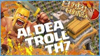 LA MEJOR ALDEA para Ayuntamiento 7 (TH7) Aldea Troll - Clash of Clans/Clash of Clans en Español