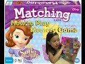 Sofia the First Matching Game l Memory Game (how to)