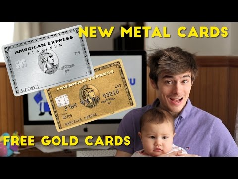Amex Platinum: How to Order NEW Metal Card and FREE Gold
