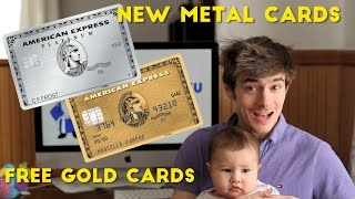 Amex Platinum: How to Order NEW Metal Card and FREE Gold Cards