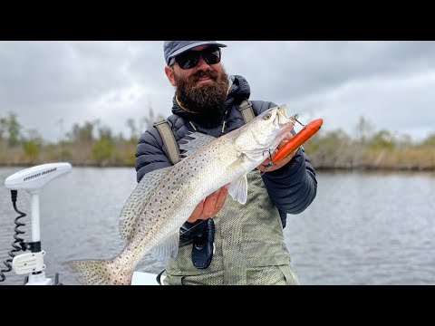 How To Catch Redfish & Trout On Topwater Fishing Lures
