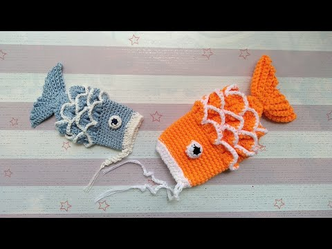 How To Crochet The Fish Purse