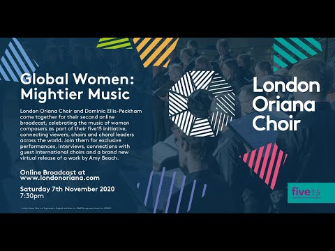 Global Women: Mightier Music - 7th November 2020