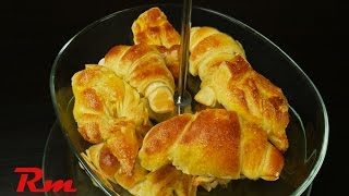Εύκολα κρουασάν (Easy homemade croissants)