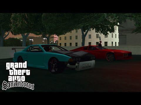 GTA San Andreas: Multi Theft Auto 15 German HD  Drag Racing