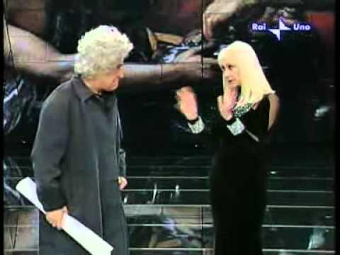 Raffaella Carrà e Torquato (Enrico Montesano) Carramba Che Fortuna 2008
