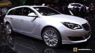 2017 Opel Insignia Sports Tourer 1.6 D - Exterior and Interior Walkaround - 2016 Paris Motor Show
