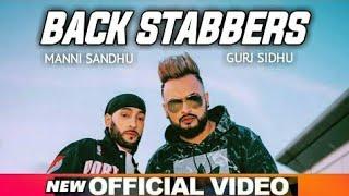 Backstabbers - Gurj Sidhu ( Official Video )   Sukh Sandhu   New Punjabi Song