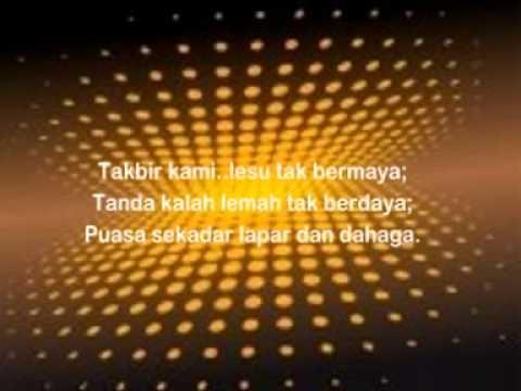 The Zikr - Ramadhan 2 Zaman ( Lirik )