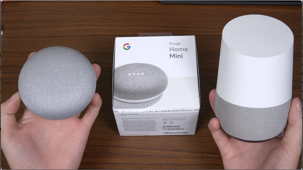 Google Home Mini Unboxing And Setup Youtube