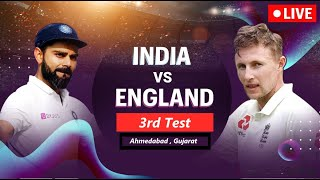 🔴Live: India vs England 3rd Test | IND vs ENG Live cricket match today | IND vs ENG 3rd Test Day 1
