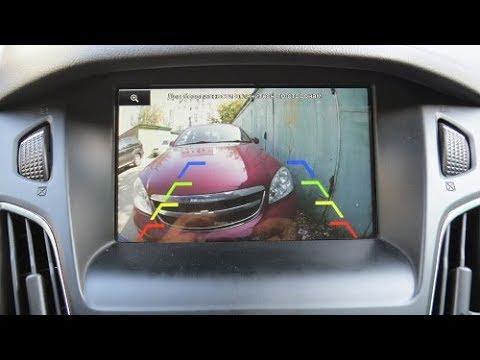 Как установить камеру заднего вида Форд Фокус 3+. Инструкция, подробно.