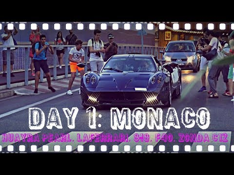 Carspotting VLOG: Monaco Tag 1 - Anreise, Einchecken und ab nach Monaco [August]