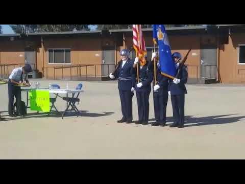 Color Guard Competition Moreno Valley High School 2018