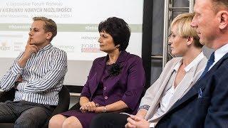 V Ostrowskie Forum Rozwoju: panel dyskusyjny - przedsiębiorcą być