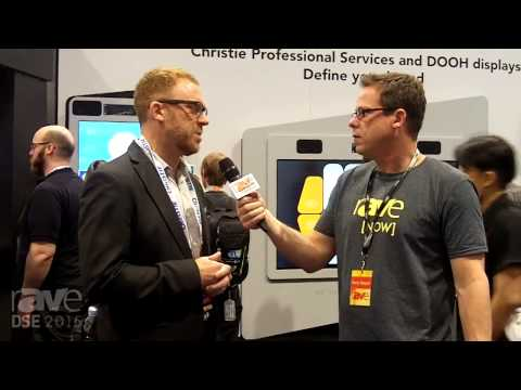 DSE 2015: Gary Kayye Talks to Denys Lavigne of Christie About Content Production, DS Offerings