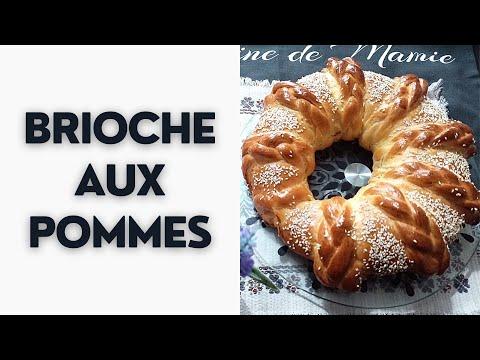 brioche-aux-pommes-✅-recette-facile-et-rapide-👍-تفاح-بريوش