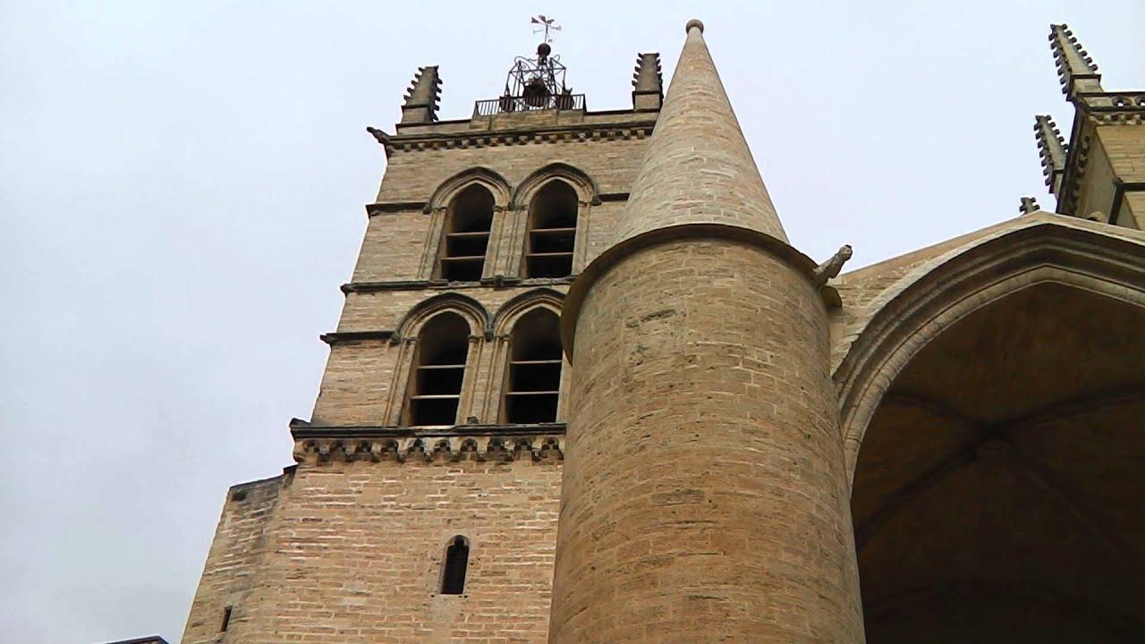 Cloches de la cath drale saint pierre de montpellier plenum vue ext rieure youtube - Cathedrale saint pierre de montpellier ...