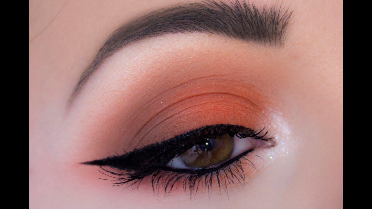 [TUTO] Maquillage de jour oranger // Orange Makeup Look
