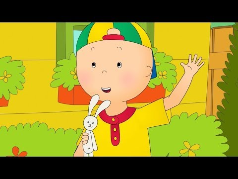 Funny Animated cartoon Kid  Caillou meets Isabelle  WATCH CARTOON ONLINE  Cartoon for Children